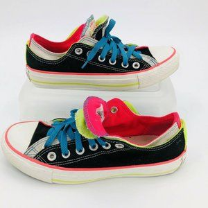 CONVERSE ALL STAR Neon Double Tongue Low Top